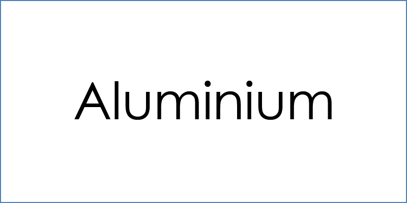 Aluminium Produkte Planet Writing